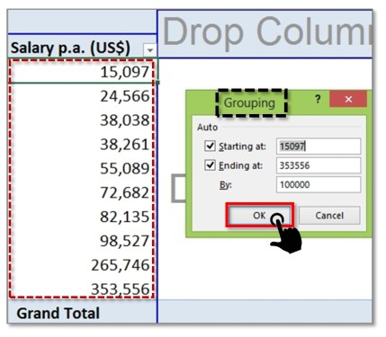 Grouping-Numbers-in-PivotTable