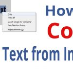 How to Copy Text from Image