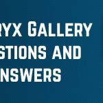 Alteryx Gallery Questions and Answers
