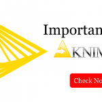 importance of knime